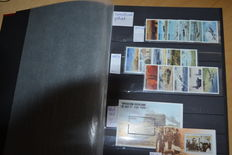 """World - Topical collection """"WW2"""" in thick stock book"""