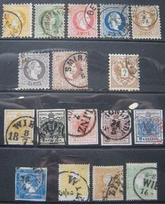 Austria and Levant 1850/1883 - Small selection