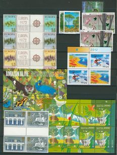 Europa stamps 1960/2012 - Collection including i.a. FDCs, maximum cards, stamp booklets