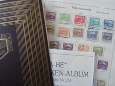 Czechoslovakia 1918/1939 - Collection on KaBe album leaves
