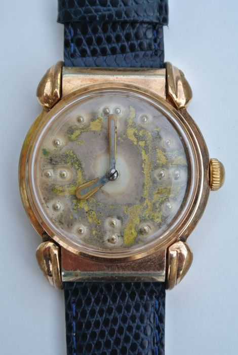 Braille watch for the blind -- Men's watch -- 1960s - Catawiki