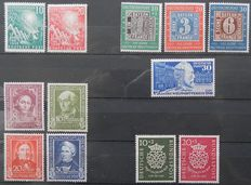 FRG 1949/1950 - Complete year sets