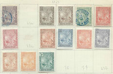 Madagascar - Collection on sheetlets between 1896 and 1960s