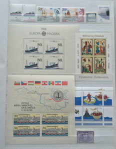 World - Topical collection including ships, aviation and aerospace