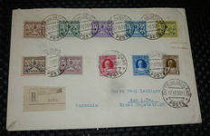 World - Selection of airmail and other covers including a.o. Vatican City, Germany, Austria