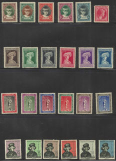 Luxembourg 1929/1957 - 11 different complete sets