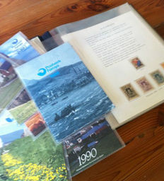 Denmark, Greenland and Faroe Islands - Selection of year collections and Christmas stamps (Jul)