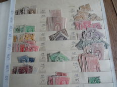 Greece 1861/1968 - Extensive batch in thick stock book