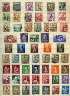 Spain 1851/1977 - Collection in stockbook
