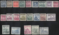 Germany - Collection with i.a. Colonies, Serbia, Saar