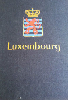 Luxembourg 1952/1992 - Collection in two Davo albums