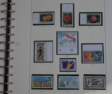 Wallis and Futuna 1920/1994 - Collection on Safe leaves