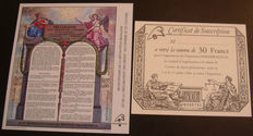 Europe - Collection of stamps, miniature sheets and stamp booklets