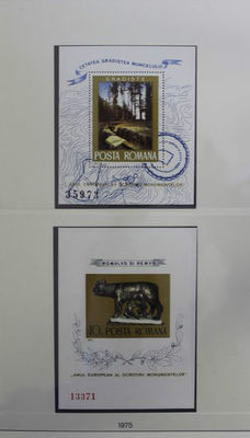 United Europe CEPT 1967/1986 - Collection followers and miniature sheets in Lindner T-type