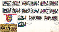 Channel islands and British Colonies 1920/1978 - Collection of over 250 postal items and covers