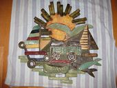 Check out our Monique Mol - large wall decoration son, sea, boats, fish