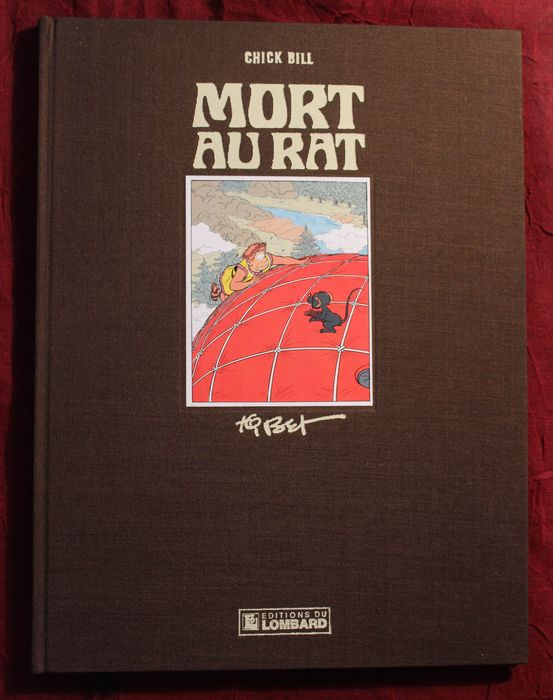 chick bill t40 mort au rat luxe hc 1e druk 1983 catawiki. Black Bedroom Furniture Sets. Home Design Ideas