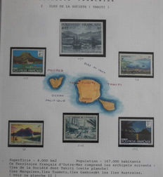 French Polynesia 1900/1997 - Collection in Safe album