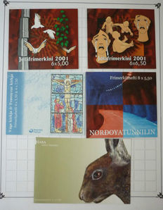 Faroe Islands - Collection of sheetlets, miniature sheets and stamp booklets