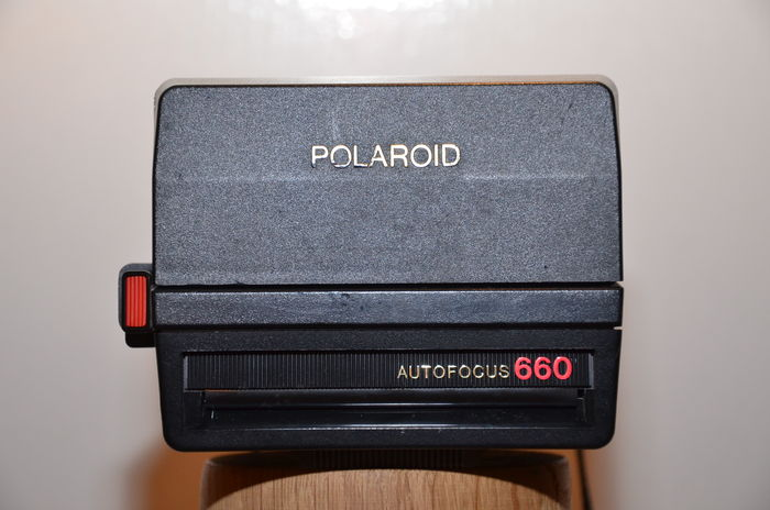 polaroid autofocus 660 camera werkt met 600 film geintroduceerd in 1981 catawiki. Black Bedroom Furniture Sets. Home Design Ideas