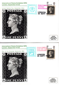 Great Britain - Batch of 430 FDCs from 1963 onwards