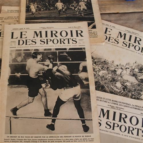 Le miroir des sports 11 nummers 1923 catawiki for Miroir des sports