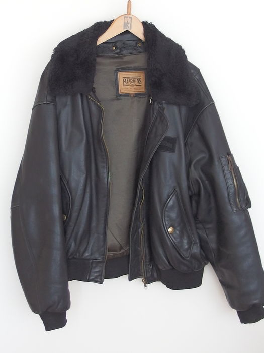 Redskins - Leather pilot jacket - men - Colector's item