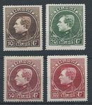 Check out our Belgium 1922/1930 - King Albert I collection, incl. type Montenez type and Hoyoux