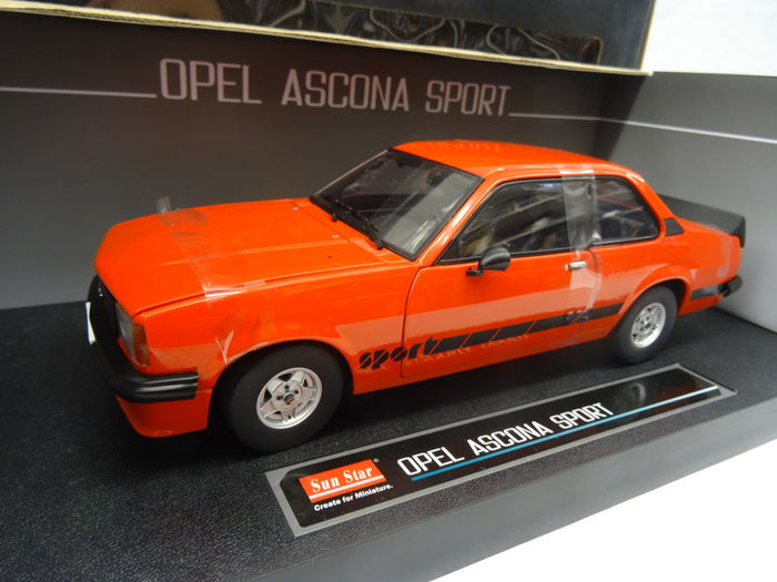 sun star schaal 1 18 opel ascona sport catawiki. Black Bedroom Furniture Sets. Home Design Ideas