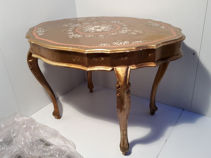 Baroque Italian Coffee Table 1970s Catawiki