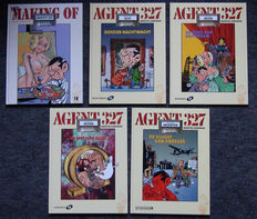 Agent 327 1 a - The making of Agent 327 - Dossier 8 + 18 + dossier 8, 9, 16, 19 - hc - (2001 / 2005)