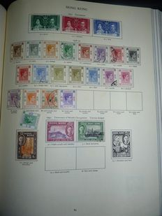 British colonies - Collection including Hong Kong, Malaysian States, South-West Africa