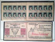 Tuberculosis 1926/1970 - Topical collection with predominantly Cinderellas