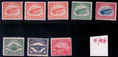 United States - Collection of extensive airmail from 1920 onward and plate numbers