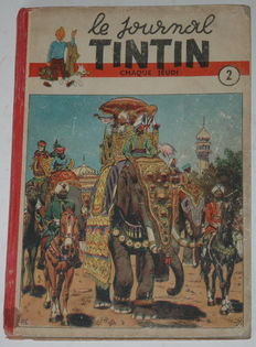 Le Journal Tintin - Reliure 2 - Edition belge - C- EO - (1947)