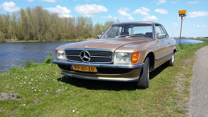 mercedes benz 280 slc coup 1980. Black Bedroom Furniture Sets. Home Design Ideas