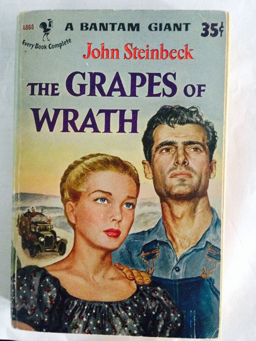 connection between the grapes of wrath
