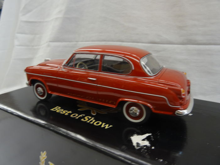 bos models 1 18 borgward isabella limousine 1955 rouge bordeaux catawiki. Black Bedroom Furniture Sets. Home Design Ideas