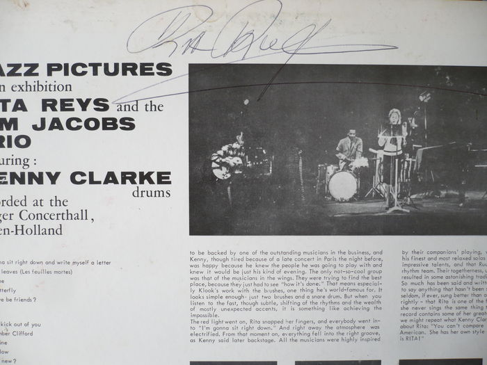 Rita Reys And The Kenny Clarke Jazz Pictures At An Exibition