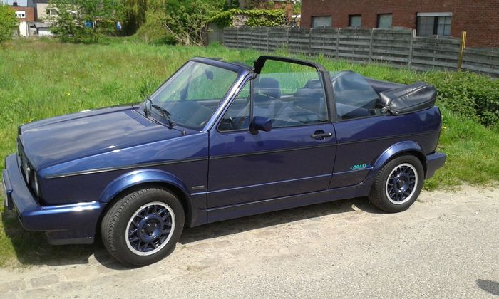 volkswagen golf 1 convertible 1990 catawiki. Black Bedroom Furniture Sets. Home Design Ideas