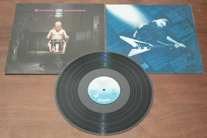4 early michael schenker group msg vinyl lp albums - Bac a vinyl ...