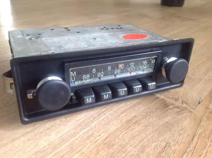 blaupunkt frankfurt us stereo vintage car radio catawiki. Black Bedroom Furniture Sets. Home Design Ideas