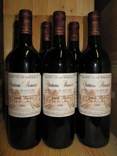 photo Chateau Rousset Cotes de Bourg Grande Reserve