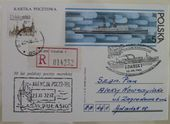 Check out our Ship's mail - Over 175 items with ships + miscellaneous from 1913 in albums and stock book