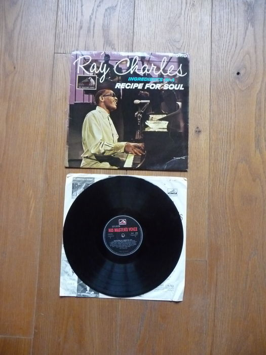 Ray Charles - 2 LP - Ingredients in a Recipe for soul ...