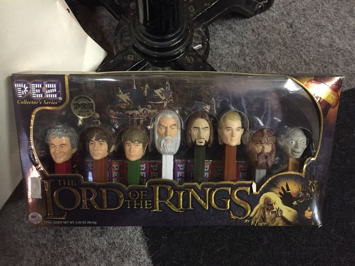 Lord Of The Rings Pez Limited Edition