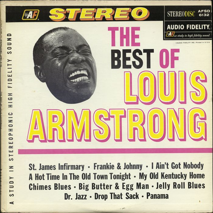 Lot of 5 LOUIS ARMSTRONG Hardcover Biographies - Gift Quality - Jazz Trumpet