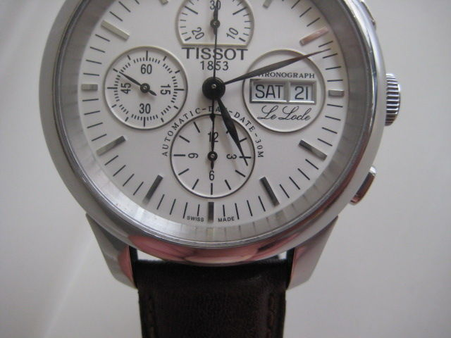 Tissot Day Date Chronograph Tissot Lelocle Chronograph Day