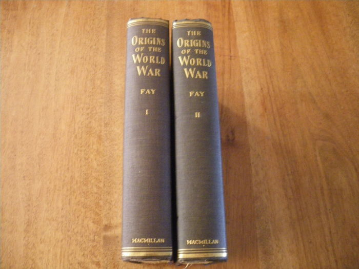 Sidney bradshaw fay the origins of the world war thesis