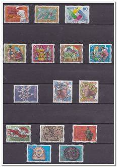 Switzerland 1984/2001 - Collection in stock album
